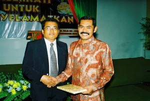 Gembala senior dengan Wakil Walikota